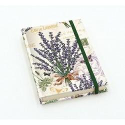 Notebook pocket 12x17 Lavanda