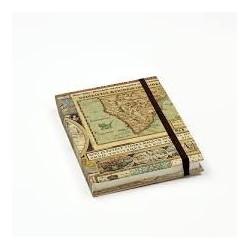 Notebook pocket 12x17 Maps