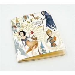 Quaderno formato A5 Biancaneve