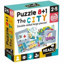Puzzle 8+1 The City